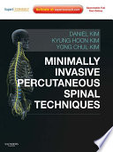 Minimally Invasive Percutaneous Spinal Techniques E Book Book PDF