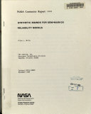 Synthetic Bounds for Semi Markov Reliability Models Book