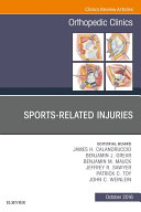 Sports Related Injuries  An Issue of Orthopedic Clinics