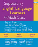 Supporting English Language Learners in Math Class  Grades 3 5