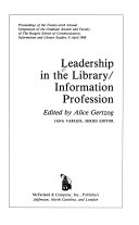 Leadership In The Library Information Profession Book PDF