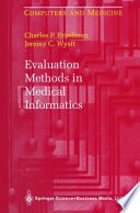 Evaluation Methods in Medical Informatics Book