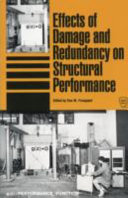 Effects Of Damage And Redundancy On Structural Performance