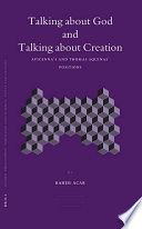 Talking About God And Talking About Creation Book PDF