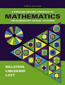 Problem Solving Approach To Mathematics For Elementary School Teachers With Activities And Mymathlab  Book PDF