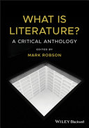 Pdf What is Literature? Telecharger