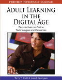 Pdf Adult Learning in the Digital Age: Perspectives on Online Technologies and Outcomes Telecharger