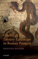 Pdf Graffiti and the Literary Landscape in Roman Pompeii Telecharger