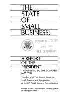 The State of Small Business