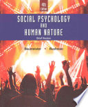 Social Psychology and Human Nature  Brief