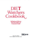 Diet Watchers Cookbook Book