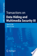Transactions on Data Hiding and Multimedia Security III Book
