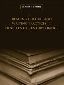 Pdf Reading Culture & Writing Practices in Nineteenth-Century France Telecharger