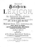 Allgemeines Gelehrten-Lexicon: A-C