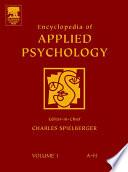 Encyclopedia of Applied Psychology Book