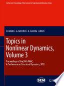 Topics in Nonlinear Dynamics, Volume 3
