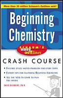 Schaum s Easy Outline of Beginning Chemistry