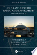Solar and Infrared Radiation Measurements  Second Edition Book