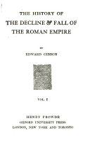 The History of the Decline   Fall of the Roman Empire Book PDF