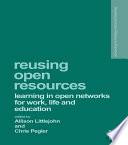 Reusing Open Resources
