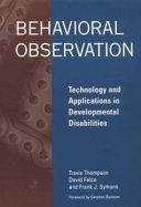Behavioral Observation
