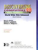 Discovering Computers 98 Book PDF