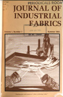 Journal of Industrial Fabrics Book