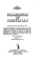 Islamization Of Pakistan Law