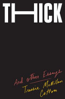 link to Thick : and other essays in the TCC library catalog