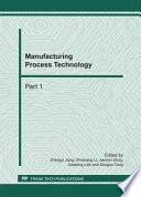 Manufacturing Process Technology