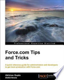 Force com Tips and Tricks