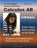 Dr. John Chung's Advanced Placement Calculus AB