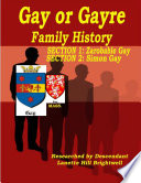 The Gayre Or Gay Family Genealogy