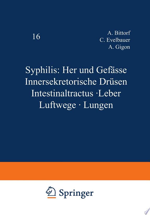 Syphilis: Herz und Gefässe Innerse