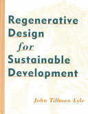 Regenerative Design for Sustainable Development