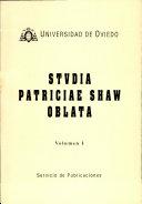 Studia Patriciae Shaw Oblata