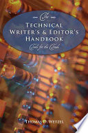 The Technical Writer's and Editor's Handbook