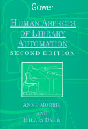 Human Aspects of Library Automation Book