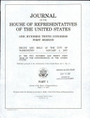 Pdf Journal of the House of Representatives of the United States