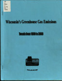 Wisconsin s Greenhouse Gas Emissions Book