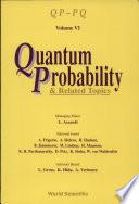 Quantum Probability & Related Topics