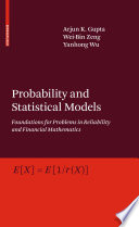Probability and Statistical Models