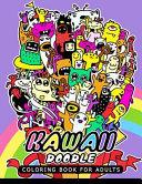 Kawaii Doodle Coloring Book for Adults Book