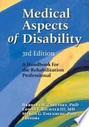 """Medical Aspects of Disability: A Handbook for the Rehabilitation Professional"" by Herbert H. Zaretsky, Edwin F. Richter, Myron G. Eisenberg"
