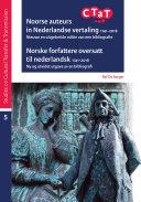Pdf Noorse auteurs in Nederlandse vertaling 1741-2018. Norske forfattere oversatt til nederlandsk 1741-2018
