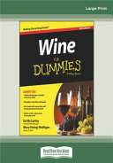 Wine For Dummies 6th Edition Book PDF