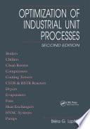 Optimization of Industrial Unit Processes