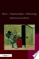 Music Psychoanalysis Musicology