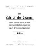 The Cult of the Coconut