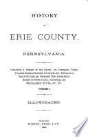 History of Erie County  Pennsylvania